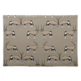 Oryx Antilope selection Placemat