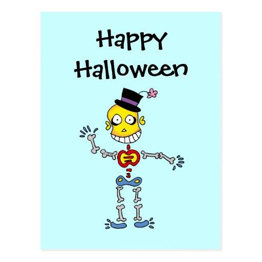 Os de Halloween Carte Postale