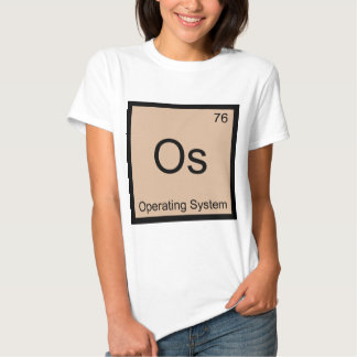 Os - Operating System Chemistry Element Symbol Tee