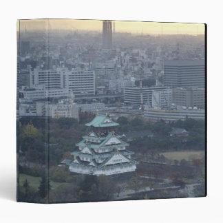 Osaka Castle 3 Ring Binder