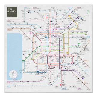Osaka INAT Map Perfect Poster