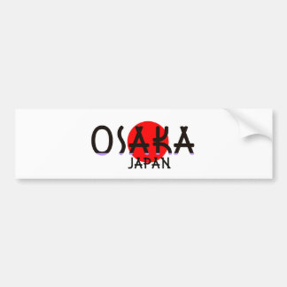 Osaka Japan Bumper Sticker