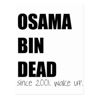OSAMA BIN DEAD POSTCARD