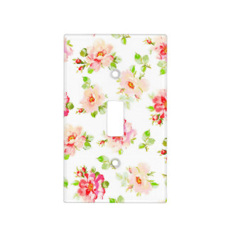 Osanna Watercolor Roses Light Switch Cover