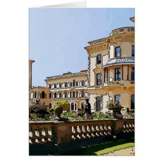 Osborne House And Gardens Card