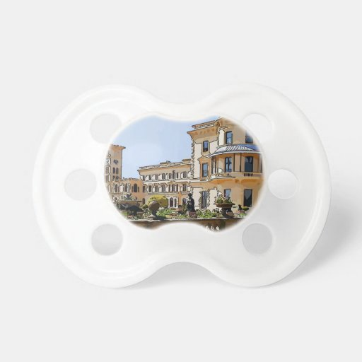 Osborne House And Gardens Baby Pacifier