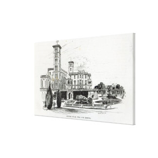 Osborne House from the Grounds Gallery Wrap Canvas