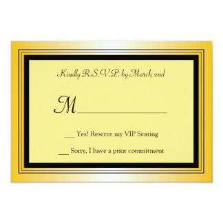 Oscar Award Party RSVP Card