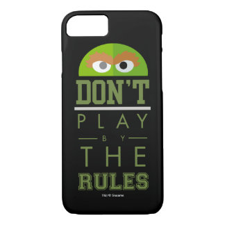 Oscar Don't Play by Rules iPhone 7 Case