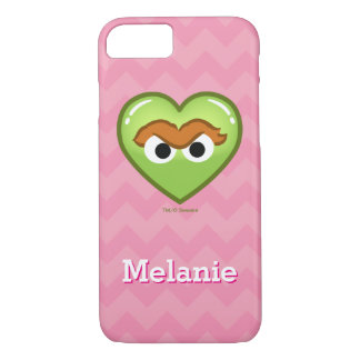 Oscar Heart   Add Your Name iPhone 7 Case