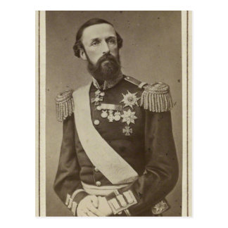Oscar II, King of Sweden #001SW Postcard