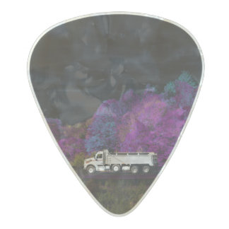oscar leaves the party pearl celluloid guitar pick