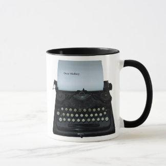 Oscar Madisoy Typewriter mug