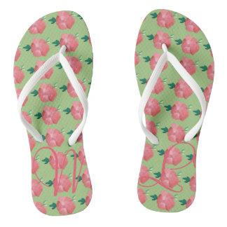 Oscar Mint Garden Flip-flop Wedding Favor Flip Flops