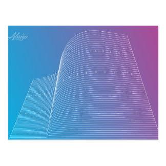 Oscar Niemeyer series Postcard