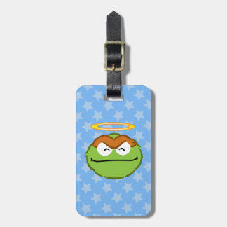 Oscar Smiling Face with Halo Luggage Tag