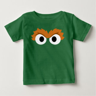 Oscar the Grouch Big Face Baby T-Shirt