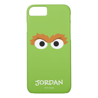 Oscar the Grouch Big Face   Your Name iPhone 7 Case