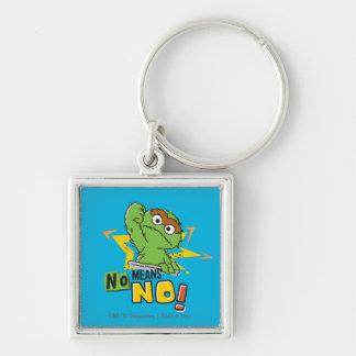 Oscar the Grouch Comic Keychain
