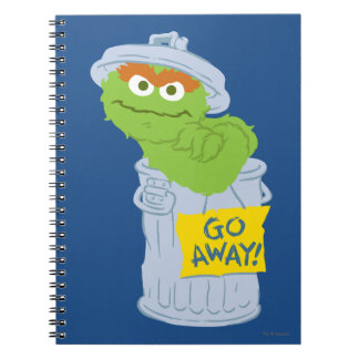 Oscar the Grouch Graphic Spiral Note Book