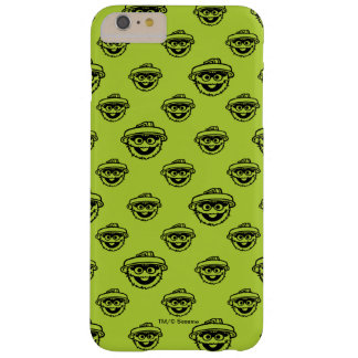 Oscar the Grouch Green Pattern Barely There iPhone 6 Plus Case