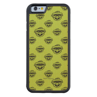 Oscar the Grouch Green Pattern Maple iPhone 6 Bumper