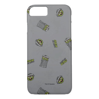 Oscar the Grouch | Grey Pattern iPhone 7 Case