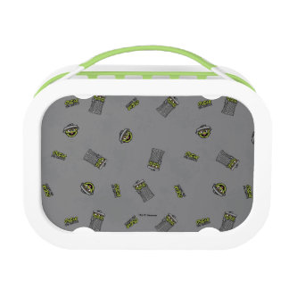 Oscar the Grouch | Grey Pattern Lunch Boxes