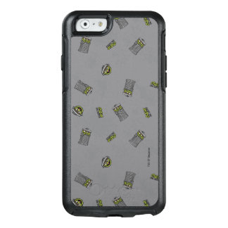 Oscar the Grouch | Grey Pattern OtterBox iPhone 6/6s Case