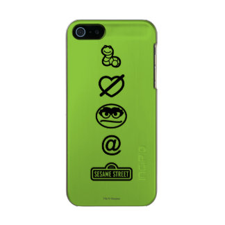 Oscar the Grouch Icons Incipio Feather® Shine iPhone 5 Case