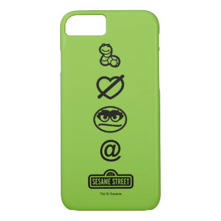 Oscar the Grouch Icons iPhone 7 Case