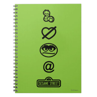 Oscar the Grouch Icons Notebook