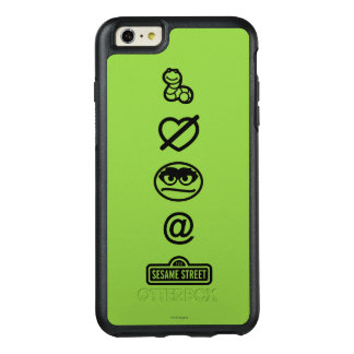 Oscar the Grouch Icons OtterBox iPhone 6/6s Plus Case