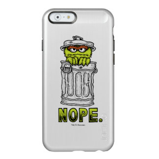 Oscar the Grouch - Nope. Incipio Feather® Shine iPhone 6 Case