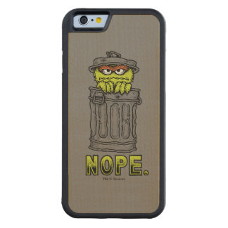 Oscar the Grouch - Nope. Maple iPhone 6 Bumper Case