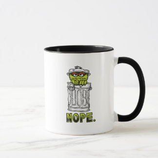 Oscar the Grouch - Nope. Mug