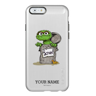 Oscar the Grouch Scram | Add Your Name Incipio Feather® Shine iPhone 6 Case