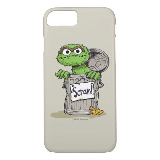 Oscar the Grouch Scram iPhone 7 Case