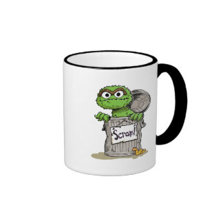 Oscar the Grouch Scram Ringer Mug