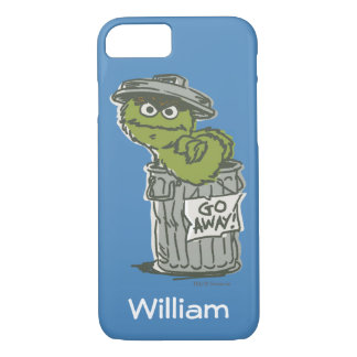 Oscar the Grouch Vintage   Add Your Name iPhone 7 Case