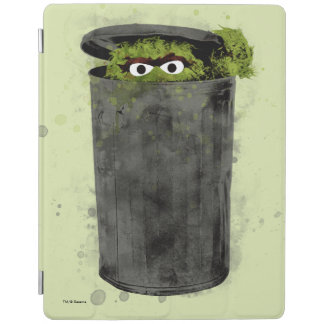 Oscar the Grouch | Watercolor Trend iPad Cover