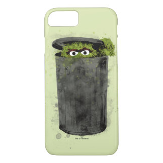 Oscar the Grouch | Watercolor Trend iPhone 7 Case