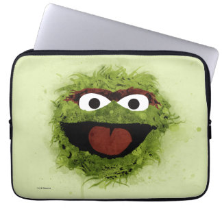 Oscar the Grouch | Watercolor Trend Laptop Sleeves
