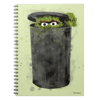 Oscar the Grouch   Watercolor Trend Notebooks