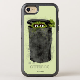 Oscar the Grouch | Watercolor Trend OtterBox Symmetry iPhone 7 Case