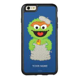 Oscar the Grouch Wool Style | Add Your Name OtterBox iPhone 6/6s Plus Case