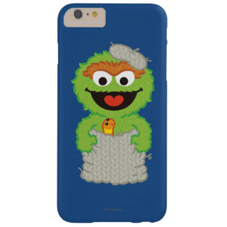 Oscar the Grouch Wool Style Barely There iPhone 6 Plus Case