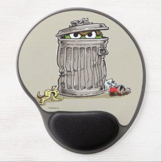 Oscar vintage dans la poubelle tapis de souris gel