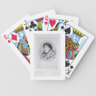 Oscar Wilde (1854-1900) a Bijou Portrait, from 'So Bicycle Playing Cards