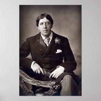 Oscar Wilde, 1889 Poster
